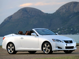 Lexus IS 250C Limited Edition (XE20) 2011 images