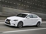 Lexus IS 300h F-Sport EU-spec (XE30) 2013 photos