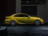 Lexus IS 350 F-Sport by Vossen (XE30) 2013 wallpapers