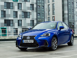 Lexus IS 300h F SPORT UK-spec 2016 pictures