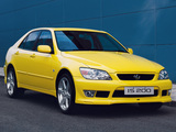 Photos of Lexus IS 200 Amarillo (XE10) 2003
