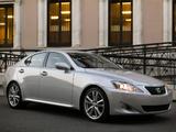 Photos of Lexus IS 350 (XE20) 2005–08