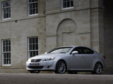 Photos of Lexus IS 250 UK-spec (XE20) 2008–10