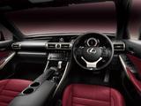 Photos of Lexus IS 350 F-Sport JP-spec (XE30) 2013