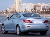 Pictures of Lexus IS 250C ZA-spec (XE20) 2009–11