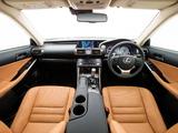 Pictures of Lexus IS 250 AU-spec (XE30) 2013