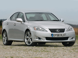 Lexus IS 250 UK-spec (XE20) 2008–10 wallpapers