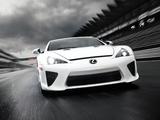 Lexus LFA 2010–12 pictures