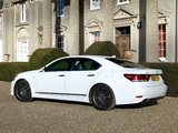 Images of Lexus LS 460 F-Sport UK-spec 2012