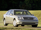 Lexus LS 430 (UCF30) 2000–03 pictures