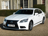 Lexus LS 460 F-Sport UK-spec 2012 images