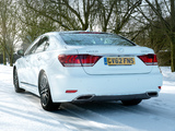 Lexus LS 460 F-Sport UK-spec 2012 wallpapers