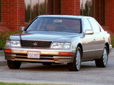 Photos of Lexus LS 400 US-spec (UCF20) 1995–97