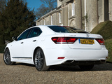 Photos of Lexus LS 460 F-Sport UK-spec 2012