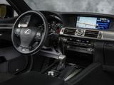 Photos of Lexus LS 460 F-Sport 2012