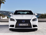 Photos of Lexus LS 600h F-Sport EU-spec 2012