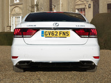 Pictures of Lexus LS 460 F-Sport UK-spec 2012