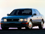 Lexus LS 400 US-spec (UCF20) 1995–97 wallpapers