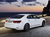 Lexus LS 600h F-Sport EU-spec 2012 wallpapers