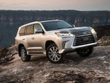 Photos of Lexus LX 570 AU-spec (URJ200) 2015