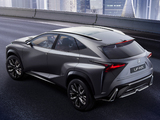 Lexus LF-NX Turbo Concept 2013 photos