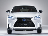 Lexus NX 300h F-Sport 2014 wallpapers