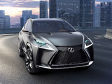 Photos of Lexus LF-NX Turbo Concept 2013