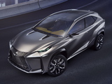Pictures of Lexus LF-NX Turbo Concept 2013