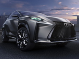 Lexus LF-NX Turbo Concept 2013 wallpapers