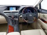 Images of Lexus RX 350 AU-spec 2009–12
