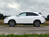 Images of Lexus RX 450h F-Sport UK-spec 2012