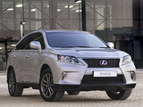 Images of Lexus RX 450h F-Sport ZA-spec 2012