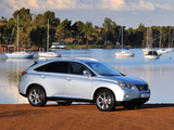 Lexus RX 350 ZA-spec 2009 photos