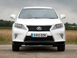 Lexus RX 450h F-Sport UK-spec 2012 images