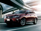 Photos of Lexus RX 270 JP-spec 2012
