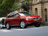 Pictures of Lexus RX 350 U-spec 2009