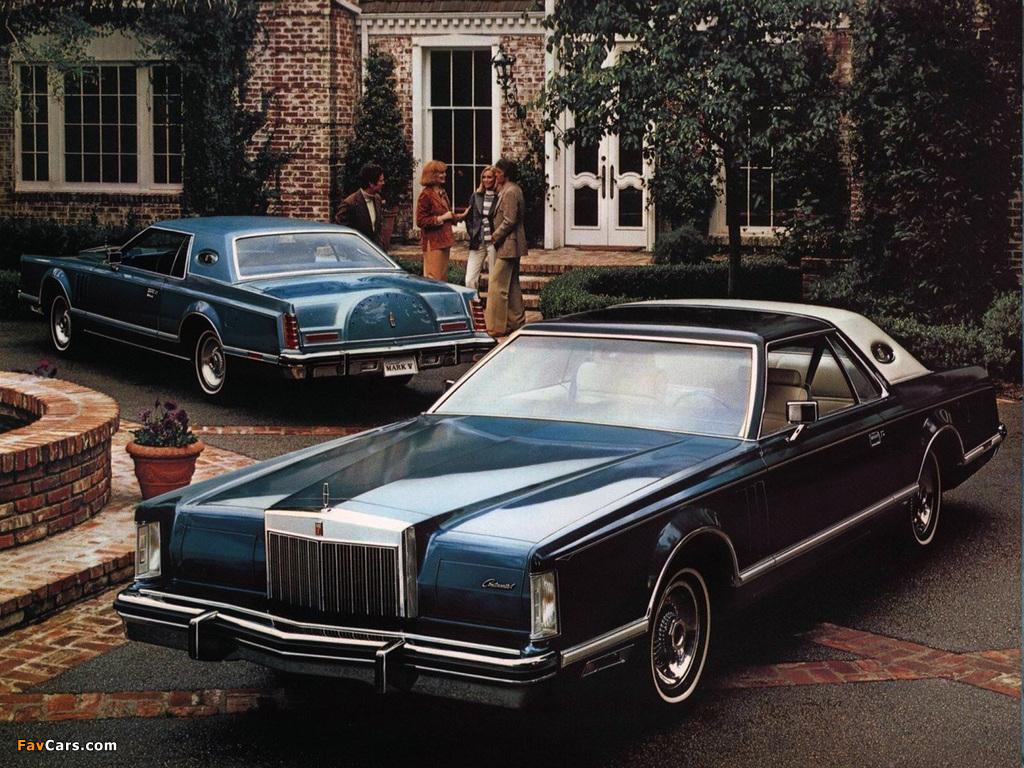 images of lincoln continental mark v 1977 79 1024x768. Black Bedroom Furniture Sets. Home Design Ideas