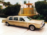 Lincoln Continental Mark VI Limousine by Bradford Coachworks 1980 pictures