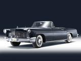 Photos of Lincoln Continental Mark II Convertible 1956–57