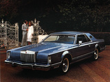 Pictures of Lincoln Continental Mark V 1977–79
