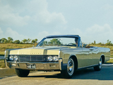 Lincoln Continental Convertible (74A) 1966 images