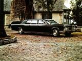 Lincoln Continental Executive Limousine by Lehmann-Peterson 1967 photos