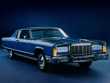 Lincoln Continental Town Coupe 1975 images
