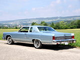 Lincoln Continental Town Coupe 1979 images