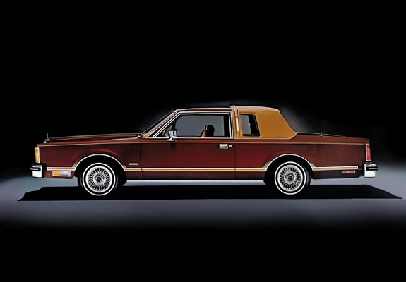 photos of lincoln continental town coupe 1980 81. Black Bedroom Furniture Sets. Home Design Ideas