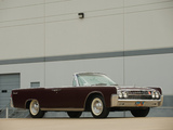Pictures of Lincoln Continental Convertible 1962