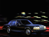 Pictures of Lincoln Continental 1984–87