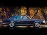 Wallpapers of Lincoln Continental 1984–87