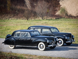 Lincoln Continental Coupe & Custom Limousine 1941 pictures