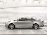 Wallpapers of Lincoln MKZ Hybrid 2012